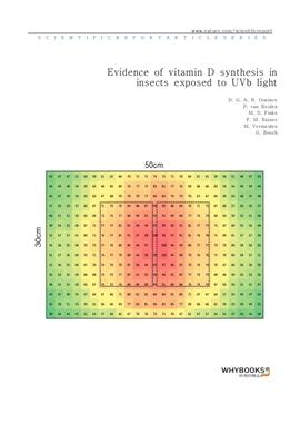 도서 이미지 - Evidence of vitamin D synthesis in insects exposed to UVb light