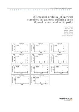 도서 이미지 - Differential profiling of lacrimal cytokines in patients suffering from thyroid-associated
