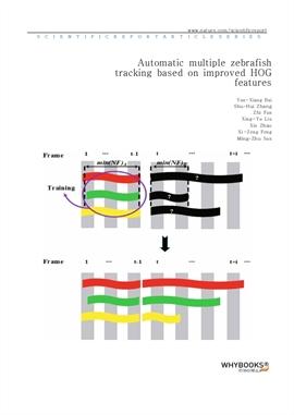 도서 이미지 - Automatic multiple zebrafish tracking based on improved HOG features