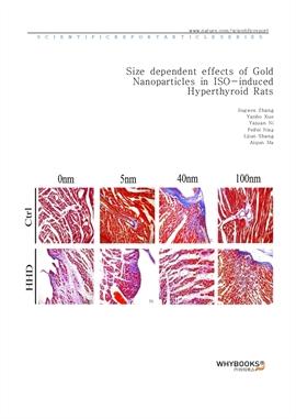 도서 이미지 - Size dependent effects of Gold Nanoparticles in ISO-induced Hyperthyroid Rats