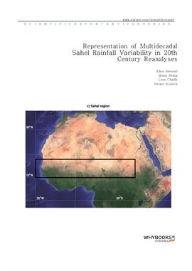 도서 이미지 - Representation of Multidecadal Sahel Rainfall Variability in 20th Century Reanalyses