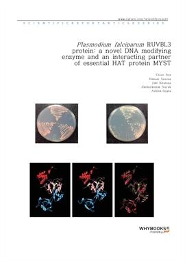 도서 이미지 - Plasmodium falciparum RUVBL3 protein a novel DNA modifying enzyme and an interacting partn