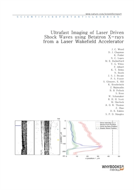도서 이미지 - Ultrafast Imaging of Laser Driven Shock Waves using Betatron X-rays from a Laser Wakefield