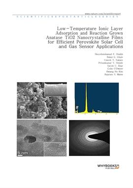 도서 이미지 - Low-Temperature Ionic Layer Adsorption and Reaction Grown Anatase TiO2 Nanocrystalline Fil