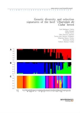 도서 이미지 - Genetic diversity and selection signatures of the beef 'Charolais de Cuba' breed