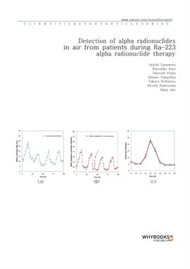 도서 이미지 - Detection of alpha radionuclides in air from patients during Ra-223 alpha radionuclide the