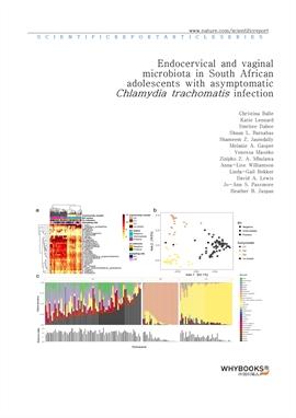 도서 이미지 - Endocervical and vaginal microbiota in South African adolescents with asymptomatic Chlamyd