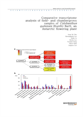 도서 이미지 - Comparative transcriptome analysis of field- and chamber-grown samples of Colobanthus quit