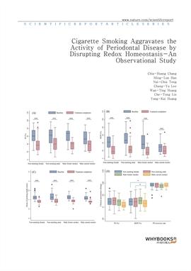 도서 이미지 - Cigarette Smoking Aggravates the Activity of Periodontal Disease by Disrupting Redox Homeo
