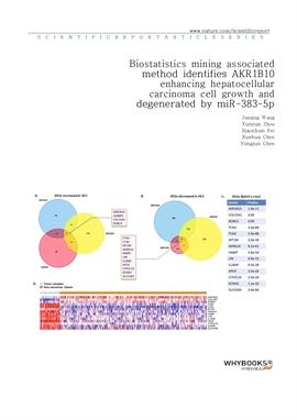 도서 이미지 - Biostatistics mining associated method identifies AKR1B10 enhancing hepatocellular carcino