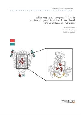 도서 이미지 - Allostery and cooperativity in multimeric proteins bond-to-bond propensities in ATCase