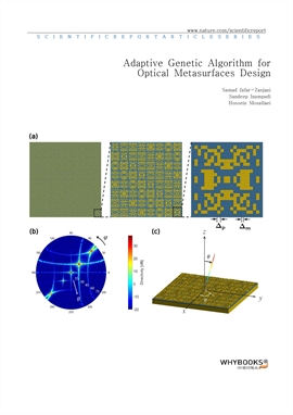 도서 이미지 - Adaptive Genetic Algorithm for Optical Metasurfaces Design