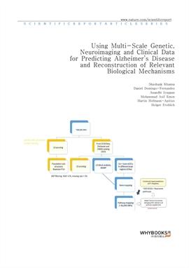 도서 이미지 - Using Multi-Scale Genetic, Neuroimaging and Clinical Data for Predicting Alzheimer's Disea