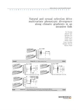 도서 이미지 - Natural and sexual selection drive multivariate phenotypic divergence along climatic gradi