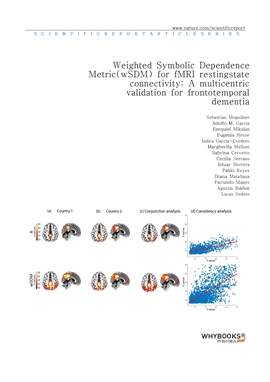 도서 이미지 - Weighted Symbolic Dependence Metric (wSDM) for fMRI resting-state connectivity A multicent