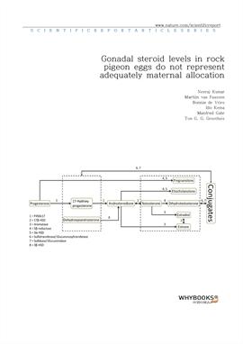 도서 이미지 - Gonadal steroid levels in rock pigeon eggs do not represent adequately maternal allocation