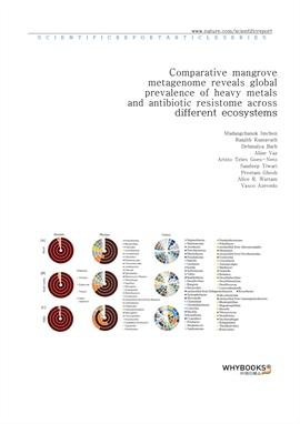 도서 이미지 - Comparative mangrove metagenome reveals global prevalence of heavy metals and antibiotic r