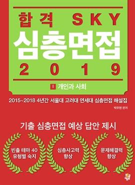 도서 이미지 - 합격 SKY 심층면접(2019) : I 개인과 사회