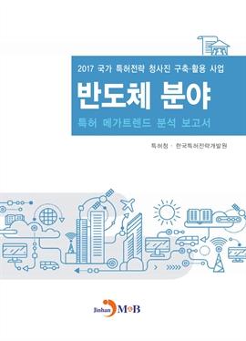 도서 이미지 - 반도체 분야 2017(특허 메가트렌드 분석 보고서)