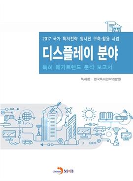 도서 이미지 - 디스플레이 분야 2017(특허 메가트렌드 분석 보고서)