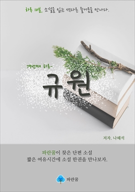 도서 이미지 - 규원 - 하루 10분 소설 시리즈