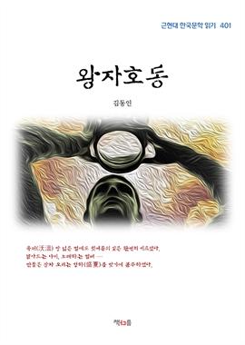 도서 이미지 - 김동인 왕자호동